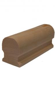 Dřevěné schodiště - Madlo 46x55x2000 - H1