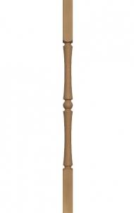 Dřevěné schodiště - Soustružená výplň zábradlí - VS12H