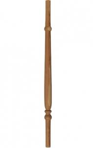 Dřevěné schodiště - Soustružená výplň zábradlí - VS14K