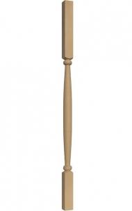 Dřevěné schodiště - Soustružená výplň zábradlí - VS05H