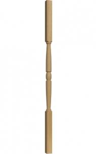 Dřevěné schody - Soustružená výplň zábradlí - VS06H
