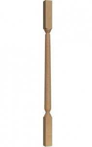 Dřevěné schody - Soustružená výplň zábradlí - VS09H